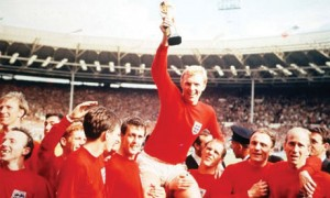 Bobby Moore lifts World Cup