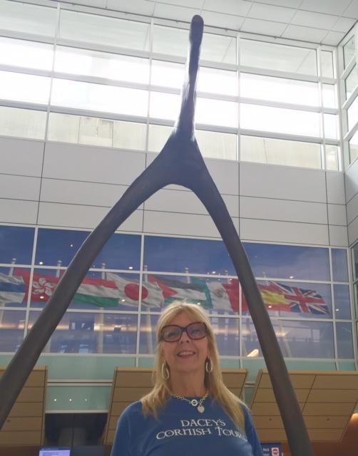 Nannette, DFW International Departure Gate