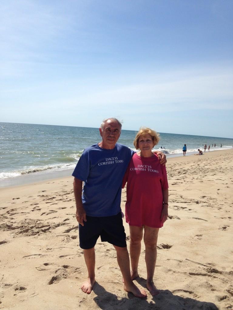 Stephanie & Santos, Fenwick Island, Delaware