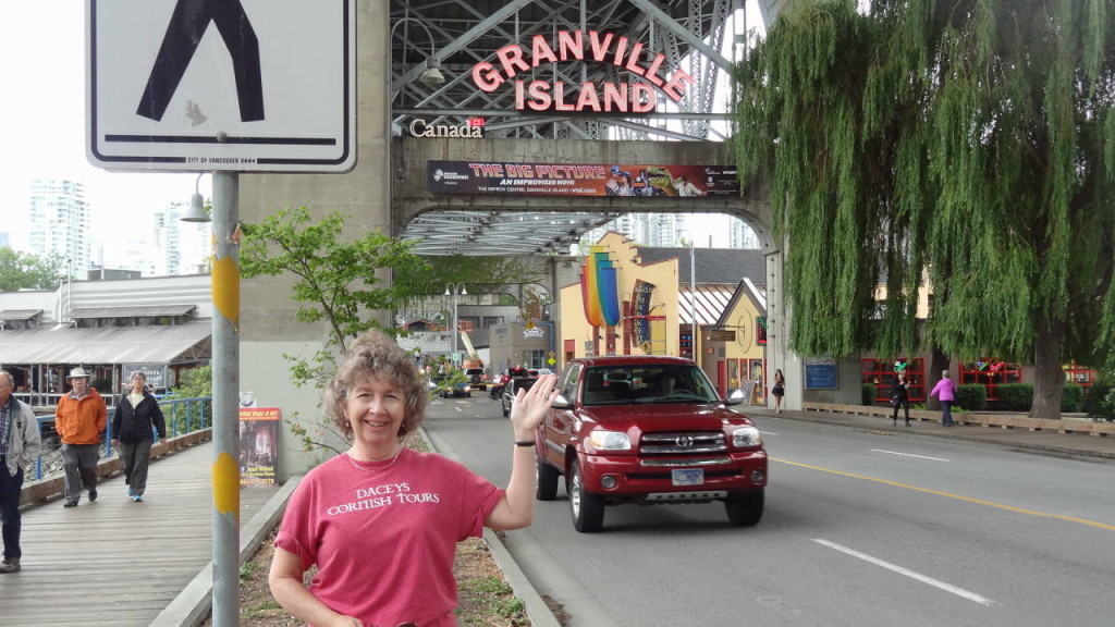 Joan Granville, Island market, Vancouver, Canada