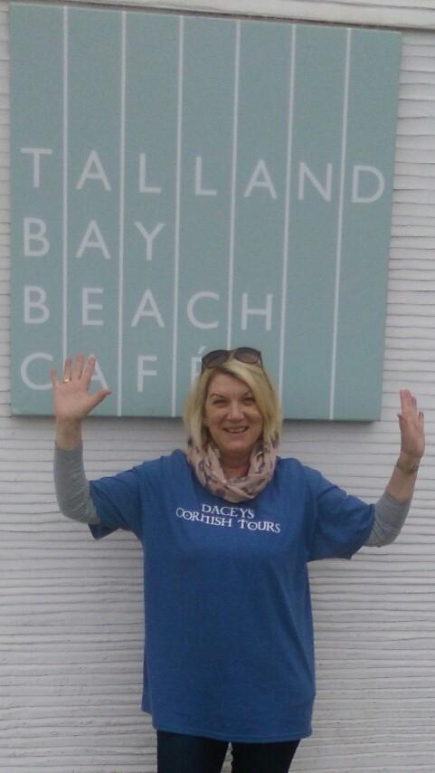 Jan,Talland Beach, Cornwall